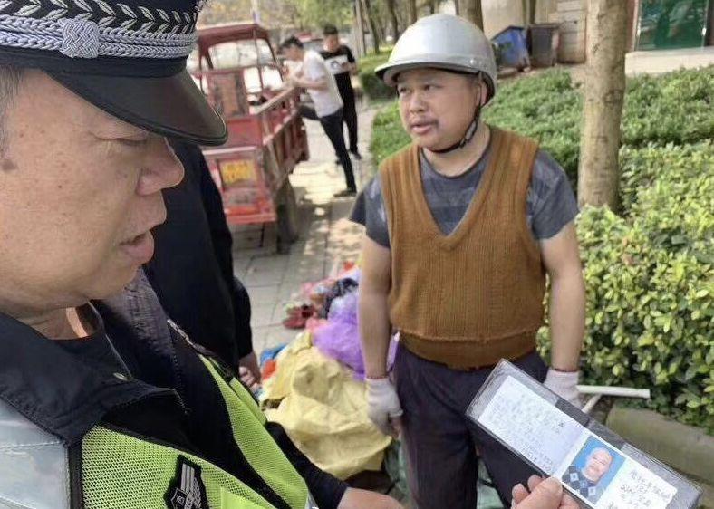《我当警察这么多年,还是第一次见到》